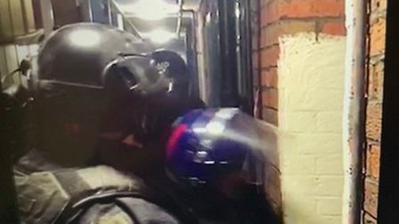 Met Police raid a property as part of Operation Continuum