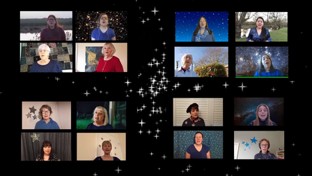 Sing! Choirs members recorded the charity single virtually