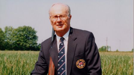 Arthur John Cook, former world clay pigeon shooter champion has died aged 96