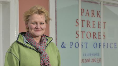 Jennifer Lambert, owner ofPark Street Stores and Post Office in Stoke -by-Nayland