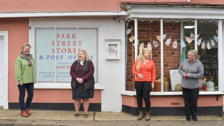 Jennifer Lambert and her team at Park Street Stores and Post Office in Stoke -by-Nayland have been g