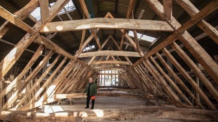Some timbers in the barn could date back as far as the 1500s