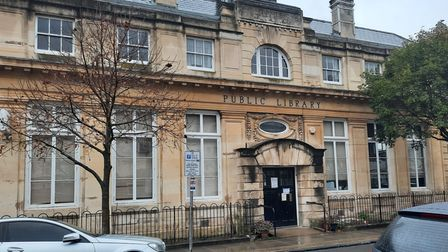 Cubitt Town Library in its historic listed building