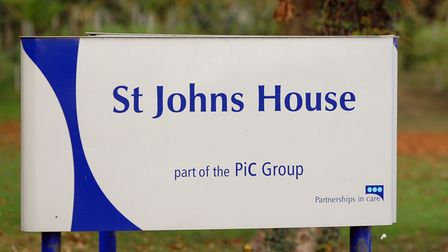 St John's House, a private hospital in Palgrave, near Diss