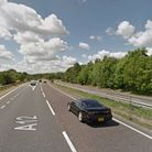 The A12 at Ardleigh, near Colchester