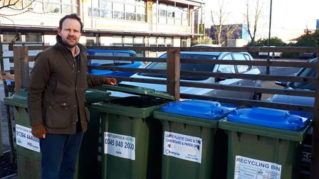East Suffolk Council cabinet member for environment, James Mallinder