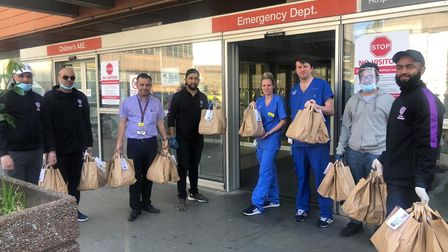 Stepney Green hero fundraises for Royal London hospital during Covid-19 pandemic