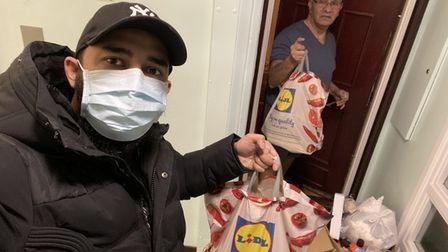 Stepney Green hero delivers more than 500 parcels during pandemic
