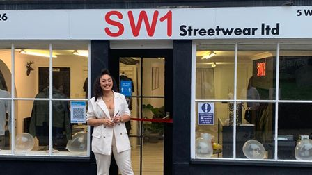HollyHarradine is the owner of SW1 Streetware in Thetford.
