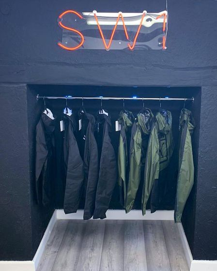 SW1 Streetware is a new clothing stored aimed at young men in Thetford.