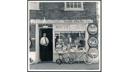 A shop keeper in Colkirk