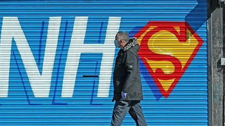 NHS staff gave been hailed heroes during the pandemic.