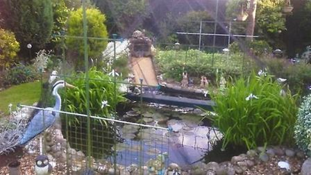 A previous entry for the 'medium' category at the March Garden Competition