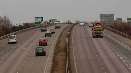 The A11 Wymondham bypass.Photo: Denise BradleyCopy: file picFor: file picArchant Norfolk pic
