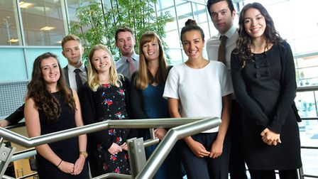 New trainees at Grant Thornton accountants, which has said its new recruitment strategy is bringing