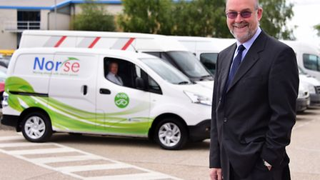 Peter Hawes, managing director of Norse Commercial Services. Picture: DENISE BRADLEY
