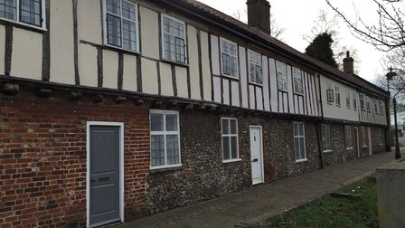 Gildencroft in Norwich where Erhart and Trudi found peace and happiness. Photo: Archant