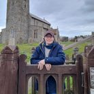 Vanessa Pritchard, from Sheringham, at All Saints church in Beeston Regis. Miss Pritchard has started a business tending...
