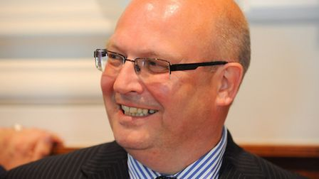 Newly elected councillor for Gorleston St Andrews, Graham Plant. Picture: James Bass