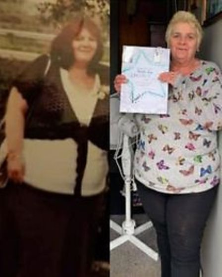 Whittlesey slimmerPatricia Day has lost fivestone 1lb