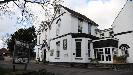 The Thomas Paine Hotel, in Thetford.