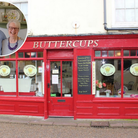 Paul and Eveline Howe of Buttercups Tearooms in Cromer, which is for sale