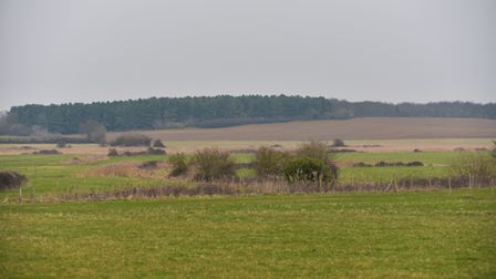 Jonathan Simper in his camping fields along the River Deben. Picture: SARAH LUCY BROWN