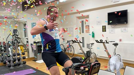James Foster, King's Ely rowing coach cycling the distance to Mount Everest