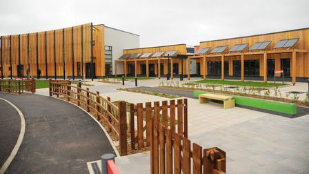 The new Cringleford Primary School at Roundhouse Park. Picture: Denise Bradley