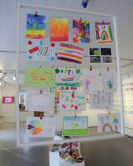 Babylon ARTS' Postcard Project saw 120 postcards sent across the region for a real-life and online exhibition.