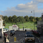 CGI of view from town of Belle Vue House proposal