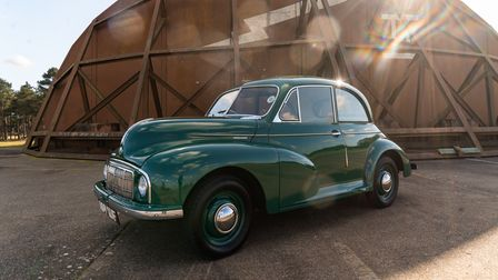 The1949 Morris Minor 'MM' Lowlight has been made available to win by Bridge Classic Cars