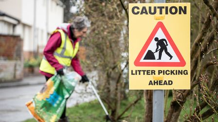 People in Debenham and surrounding areas are being asked to go out and do some litter picking this weekend for Mother's Day
