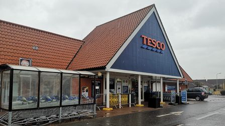 The bottles of cough medicine were taken from the Tesco in Kesgrave
