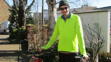 A cyclist from Wilburton is gearing up for his latest charity cycle ride for Comic Relief.