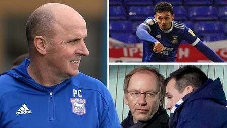 Paul Cook wants to help Ipswich Town's young players blossom but admitted working with owner Marcus Evans and Lee O'Neill...