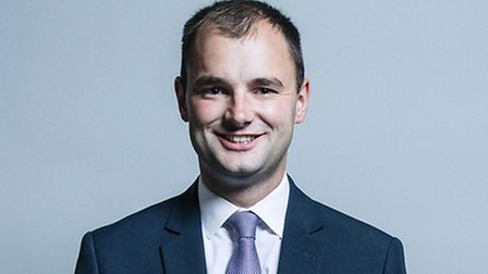 Luke Hall - the local government minister who has written to Mayor James Palmer with some grim news