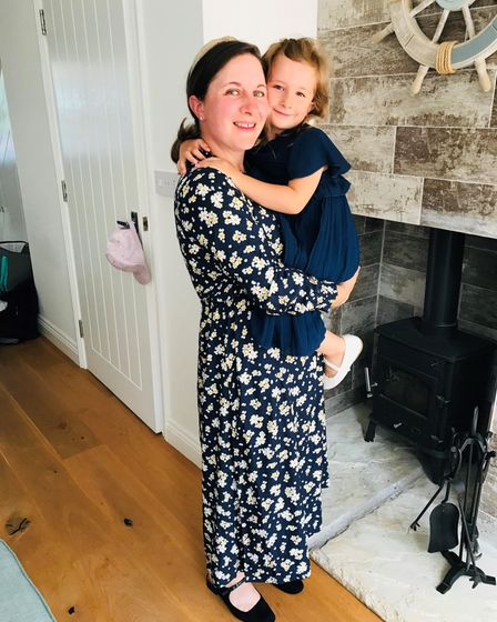 Fiona Ginn and her daughter, Hope