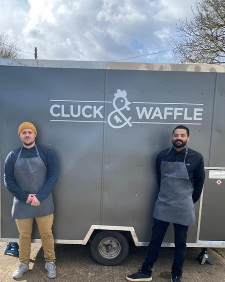 Cluck & Waffle owners Lewis Sell and Reese Prince are launching in Sudbury