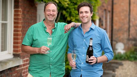 Naked Wines, founder Rowan Gormely (left), managing director Eamon Fitzgerald. Picture submitted.