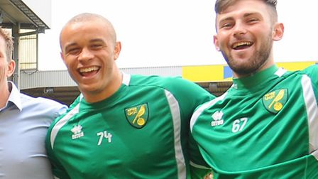 Norwich City youngster Carlton Morris has signed a new two-year deal. Picture: Denise Bradley