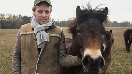 Estate owner and rewilding advocate Lord Somerleyton, who is helping with a huge re-wilding project