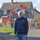 Nigel Chapman and fellow residents in Acton, are up in arms over the damage that the Bloor Homes dev