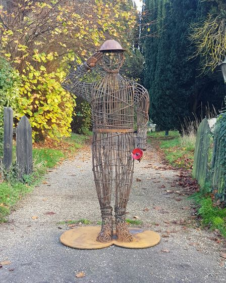 The Remembrance Sunday piece Billy Moulton Day created for the Holbrook Society.