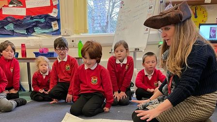 Students were taught sea shanties and went on a treasure hunt in their first week back