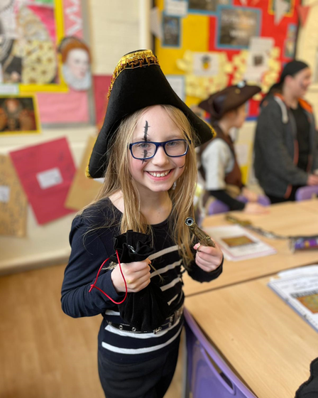 The youngsters enjoyed an exciting first week back in fancy dress
