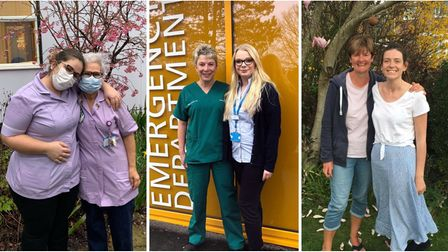 As we celebrate Mother's Day, we hear from three women who have followed their mumsin to the NHS