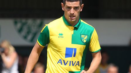 Graham Dorrans was a key figure in the opening 45 minutes of Norwich City's 7-0 friendly win against