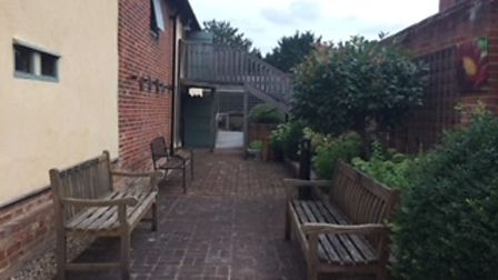 The garden at The Maltings, Great Dunmow