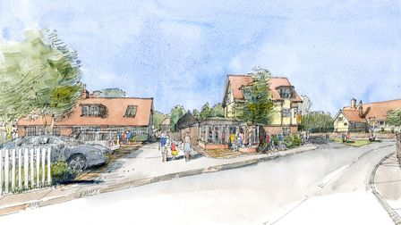 Plans for the Dolphin at Thorpeness
